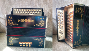 refurbished Hohner B/C melodeon
