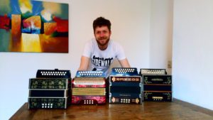 Button Accordions for Sale