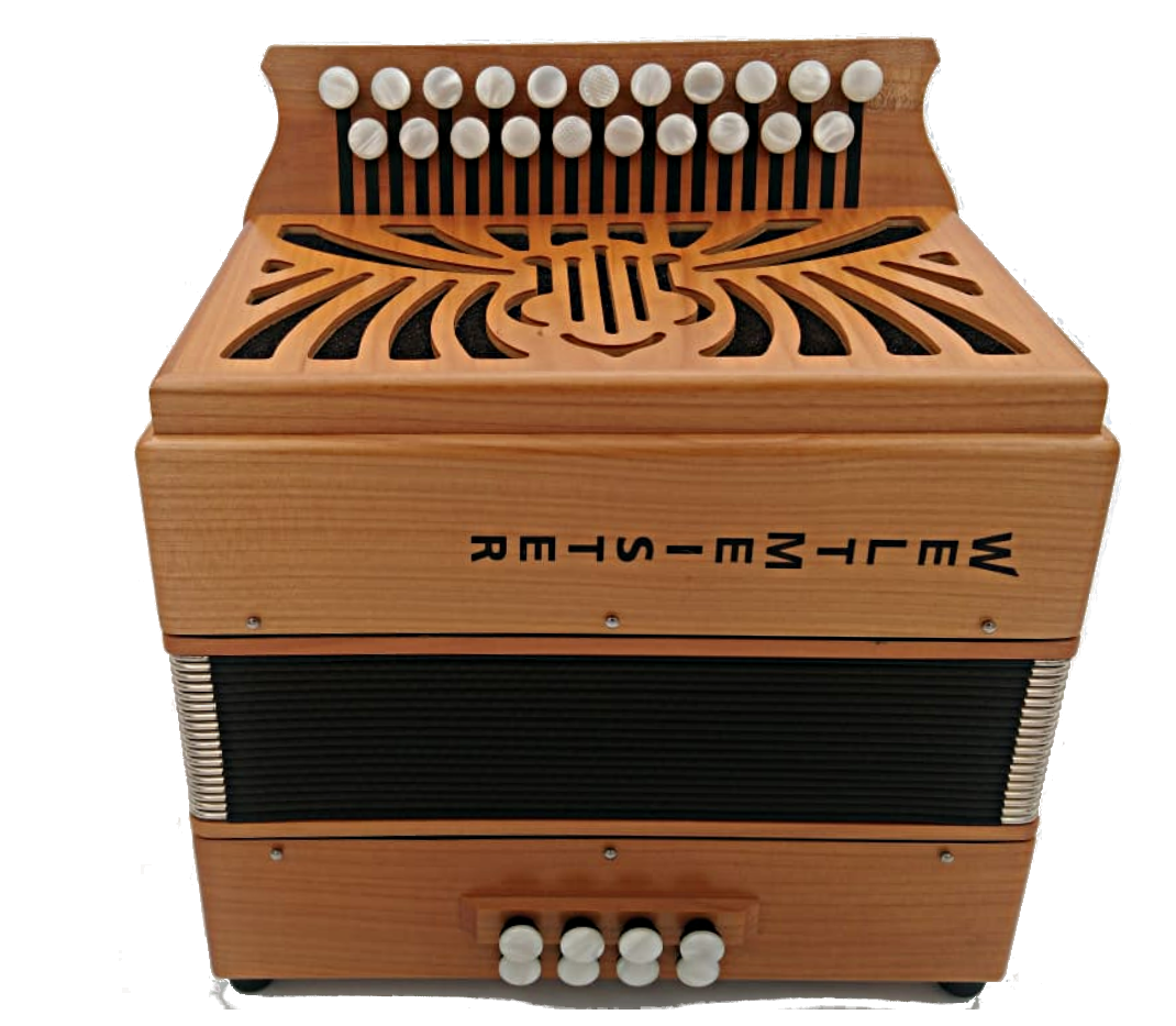 Wooden Weltmeister Accordion in CF