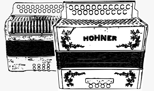 renting diatonic button accordion