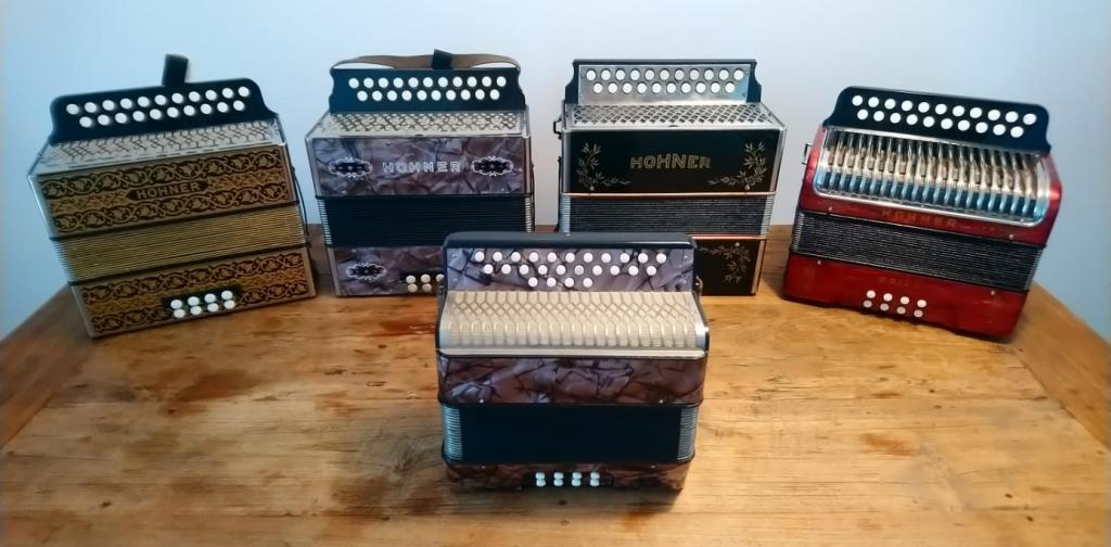 custom made accordion melodeon
