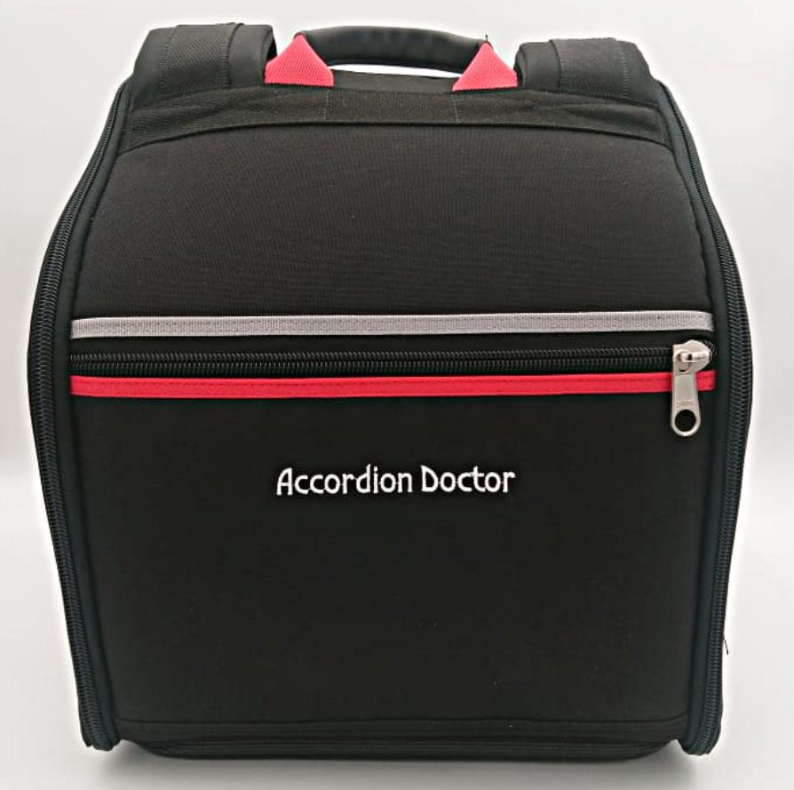 Premium Italian gig bags for diatonic accordions