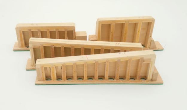 Melodeon Reed Blocks