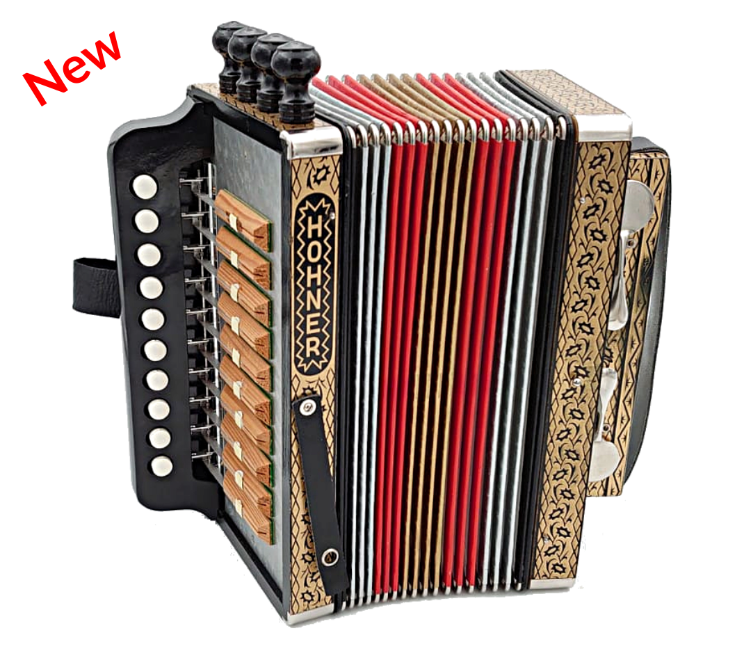 Cajun Accordion Hohner 114