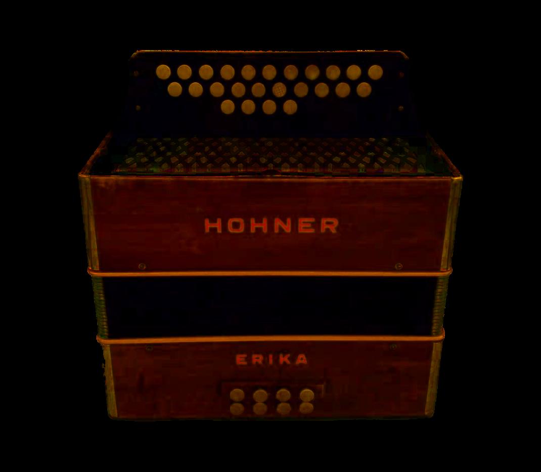 Hohner Erika with Swing Tuning